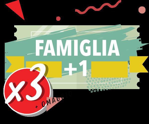 Onda Splash - Famiglia + 1 x 3