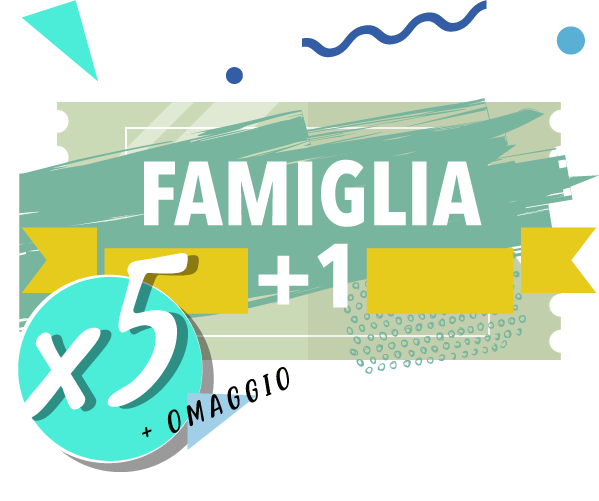 Onda Splash - Famiglia +1 x 5