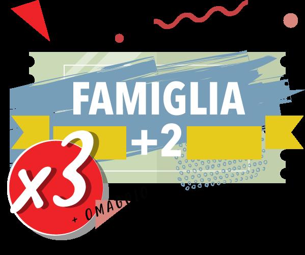 Onda Splash - Famiglia + 2 x 3