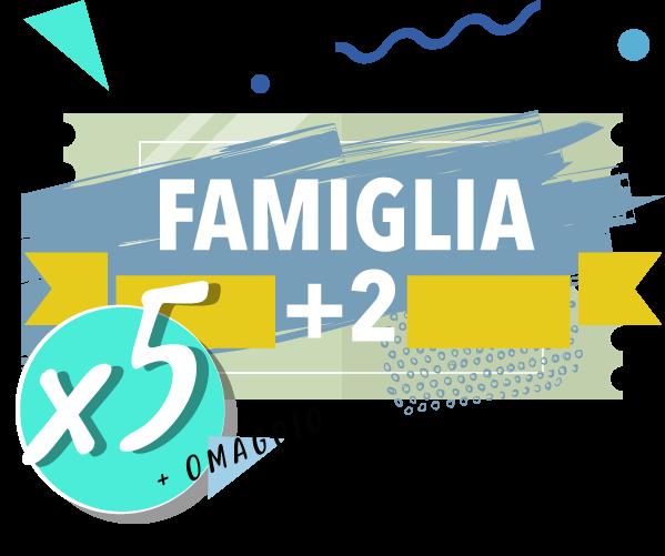 Onda Splash - Famiglia +2 x 5