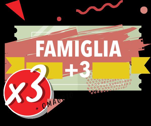 Onda Splash - Famiglia +3 x 3