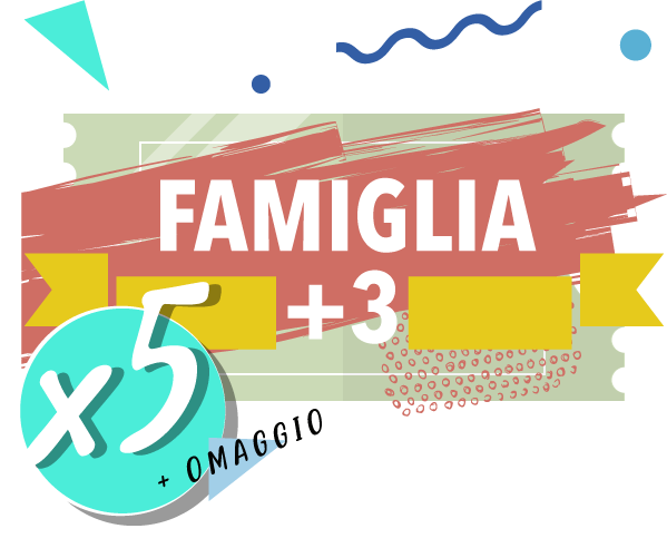 Onda Splash - Famiglia +3 x 5