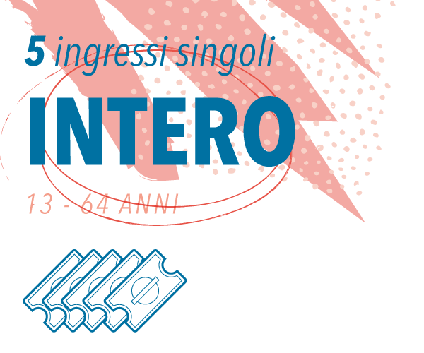 Onda Splash - Intero 5 ingressi